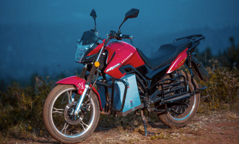 Electric Motorcycle Startup is transforming the Rwandan taxi Industry